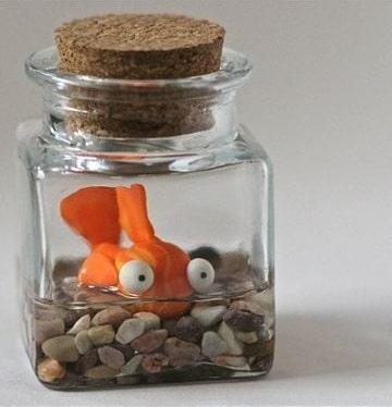 botellitas de vidrio para souvenirs ideas