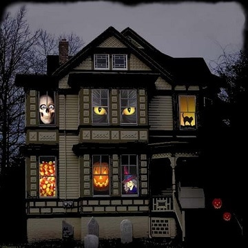 casas decoradas para halloween ideas