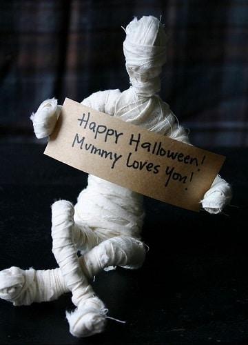 como hacer adornos de halloween ideas
