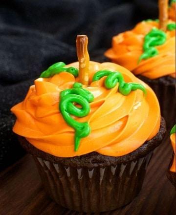 dulces para halloween caseros cupcakes
