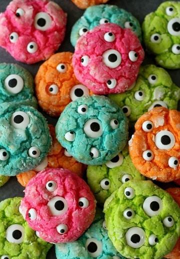 dulces para halloween caseros galletas