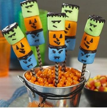 ideas y creaciones de dulces para halloween caseros