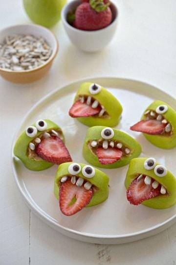 dulces para halloween caseros saludables