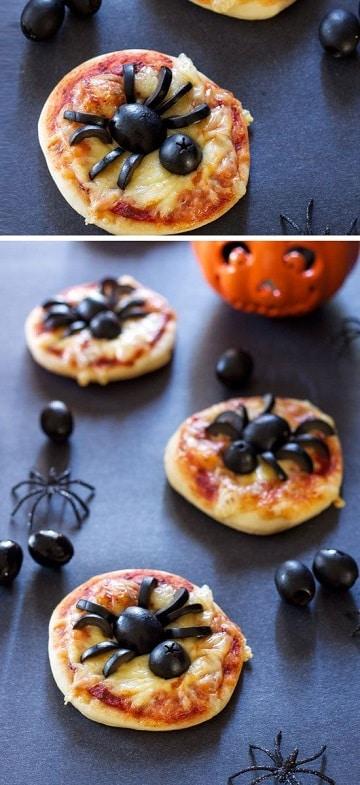 fiestas de halloween para adultos comida