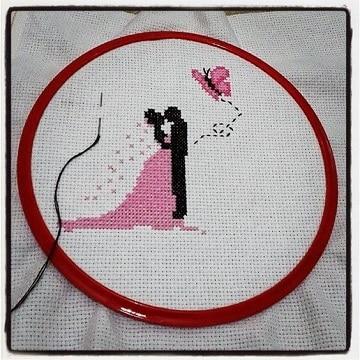 imagenes de servilletas para boda bordado