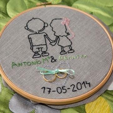 imagenes de servilletas para boda con recuerdo