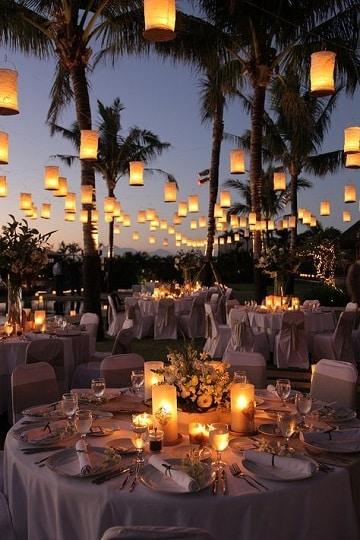 ornamentacion para casamiento romantico