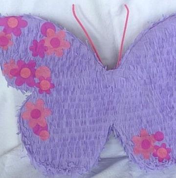 piñatas de flores y mariposas diseños
