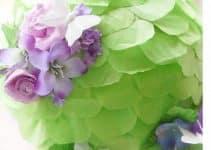 Originales y hermosas piñatas de flores y mariposas