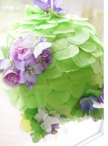 piñatas de flores y mariposas para chicas grandes