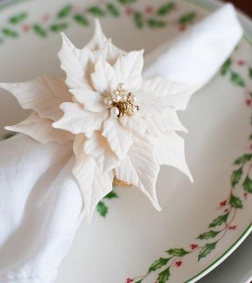 servilletas de papel navideñas elegantes