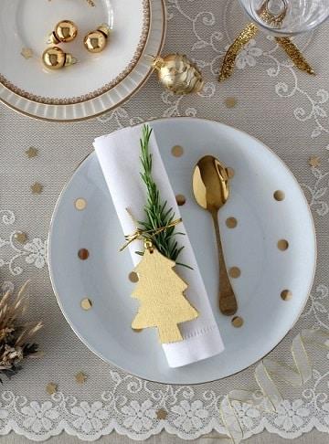 servilletas de papel navideñas para fiestas
