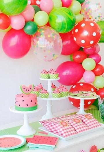 temas para cumpleaños de niña fruta