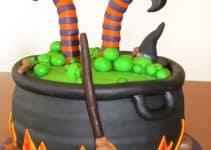 Originales diseños de tortas decoradas de halloween