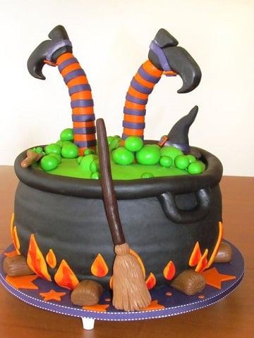 tortas decoradas de halloween creativos