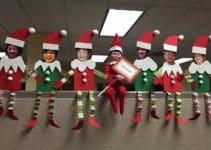 Originales y sencillos adornos navideños para oficina