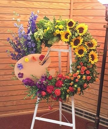 arreglos florales para difuntos originales