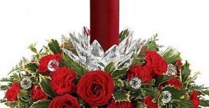 Ideas Y Diseños De Arreglos Florales Para Navidad