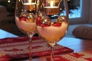 Hermosos y tradicionales arreglos navideños con velas