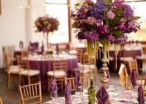 Diversos diseños y arreglos para boda en salon