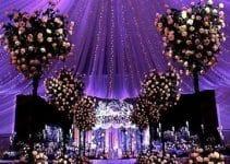 Una gran y elegante decoracion de salones con telas