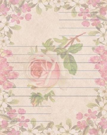 fondos para cartas de amor flores