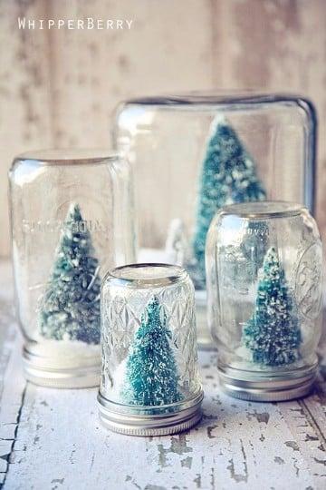 imagenes de arreglos navideños para mesa