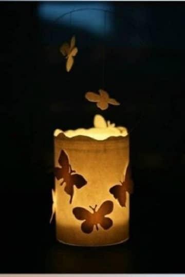 lamparas para centros de mesa hechas a mano