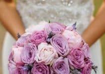 Diseños hermosos de ramos de rosas para novias