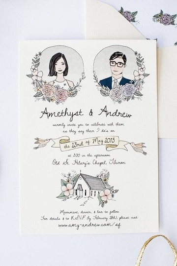 tarjetas de matrimonio civil animadas