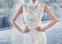 Diseños elegantes de vestidos chinos de fiesta