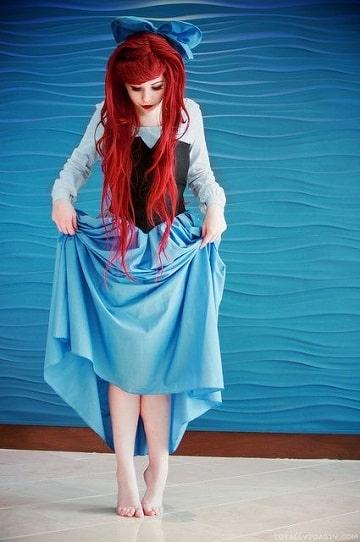 vestidos de la sirenita de disney para mujeres