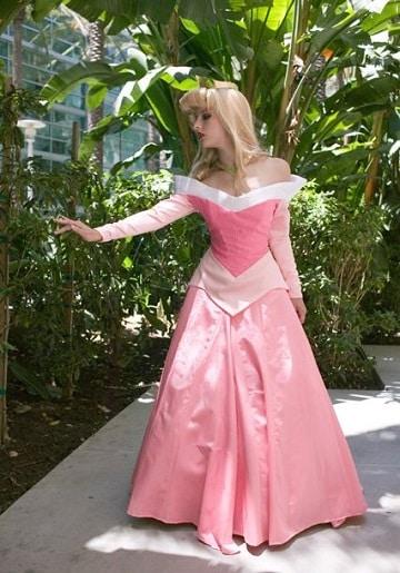 vestidos de princesas para adultos aurora