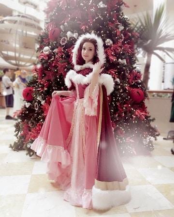 vestidos de princesas para adultos bella