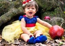 Curiosos y excepcionales vestidos de princesas para bebes