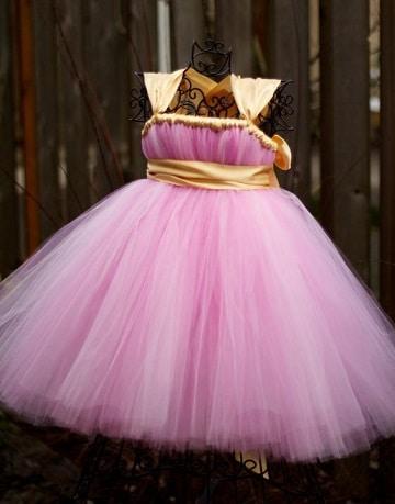 vestidos de princesas para bebes rapunzel