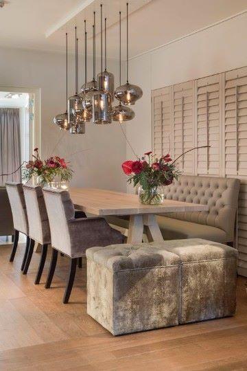 diseños de mesas de madera para comedor comodo