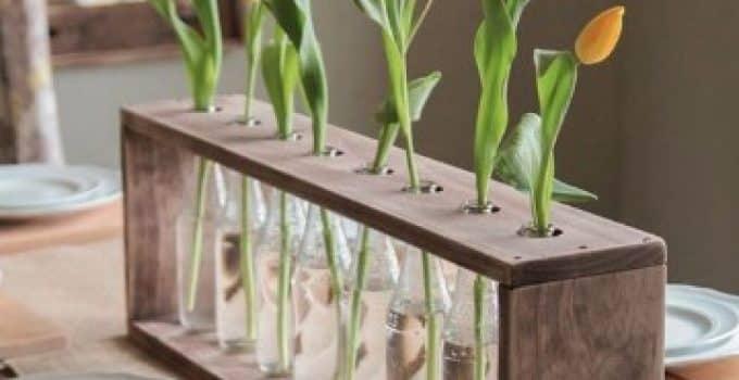 Ideas y adornos para mesa de comedor rectangular
