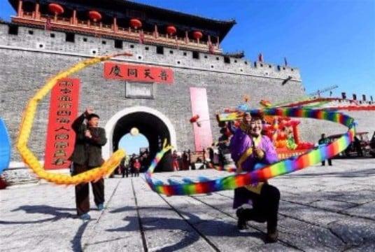 celebracion año nuevo chino colorido