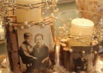 Emblematicos adornos y centro de mesa para 80 años
