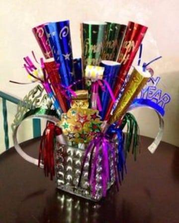 centros de mesa para fin de año para fiestas