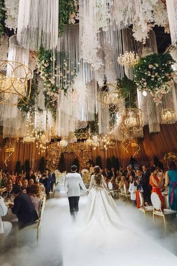 como arreglar un salon para boda de cuento de hadas