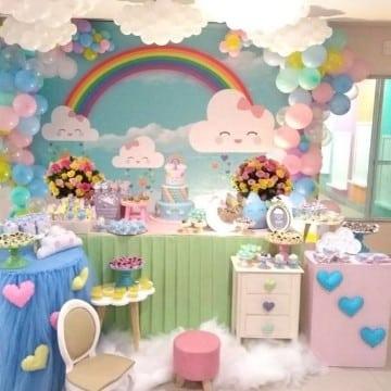 como arreglar una mesa de dulces tematica