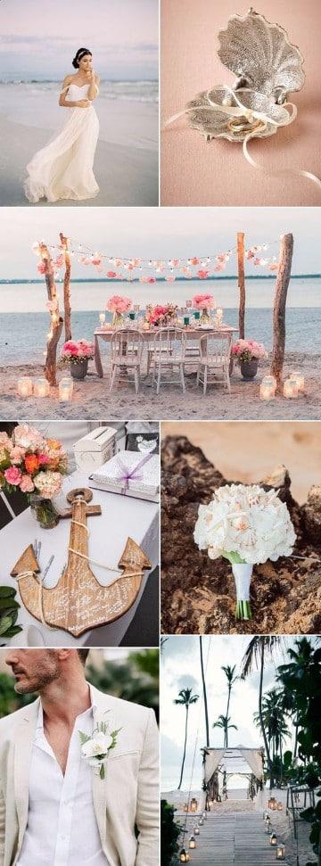 como organizar una boda en la playa especial