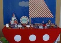 Ideas decorativas para cumpleaños de marinero para niños