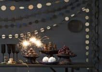 Diseños para decoracion fiesta fin de año en casa