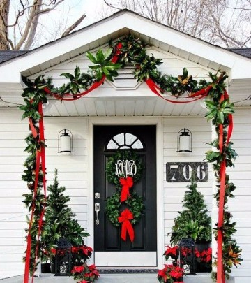 decoracion navideña para exteriores 2017