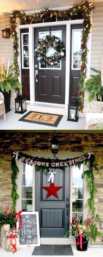 decoracion navideña para exteriores de casas