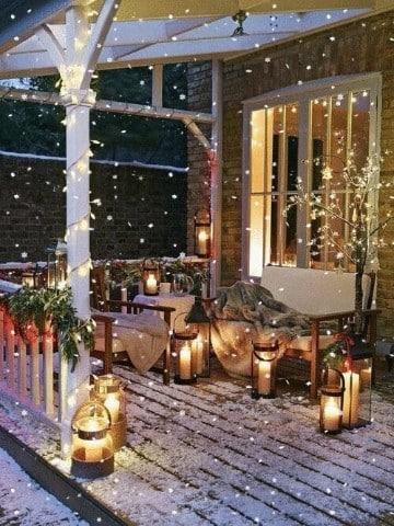 decoracion navideña para exteriores e interiores
