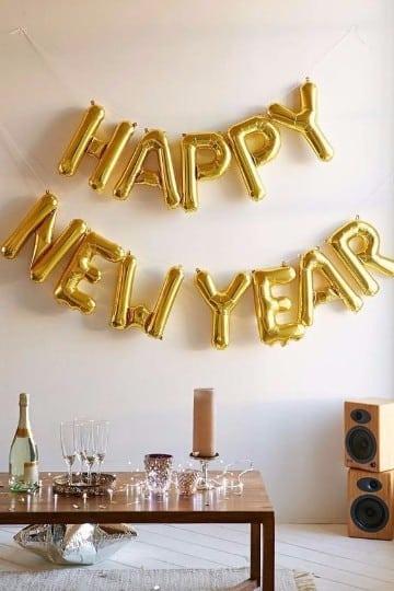 decoracion para año nuevo 2017 en casa